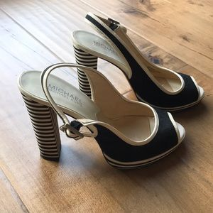 MICHAEL Michael Kors Chunky Heels